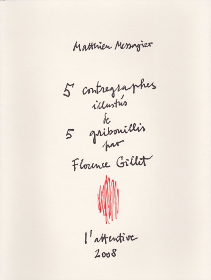Cinq Contregraphes
