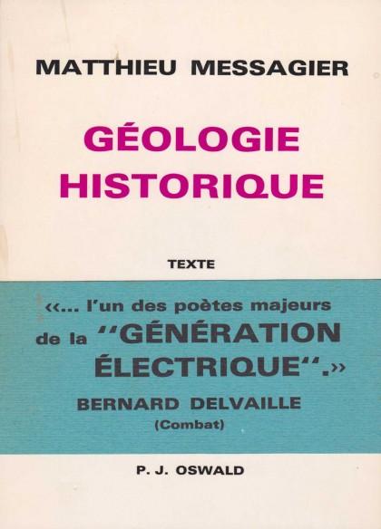 Géologie Historique