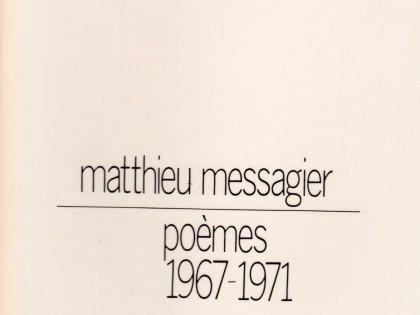 Poèmes (1967-1971)
