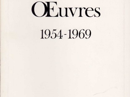 Œuvres (1954-1969)