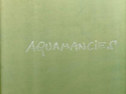 Aquamancies