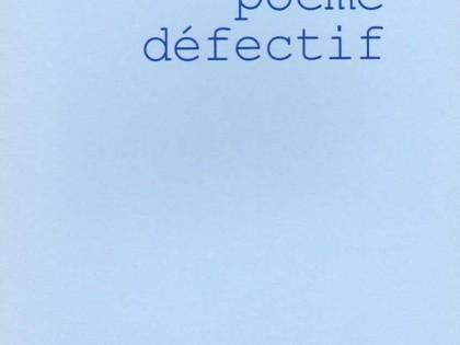 Poème défectif