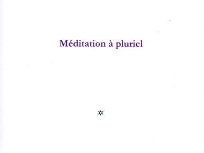 MÉDITATION À PLURIEL
